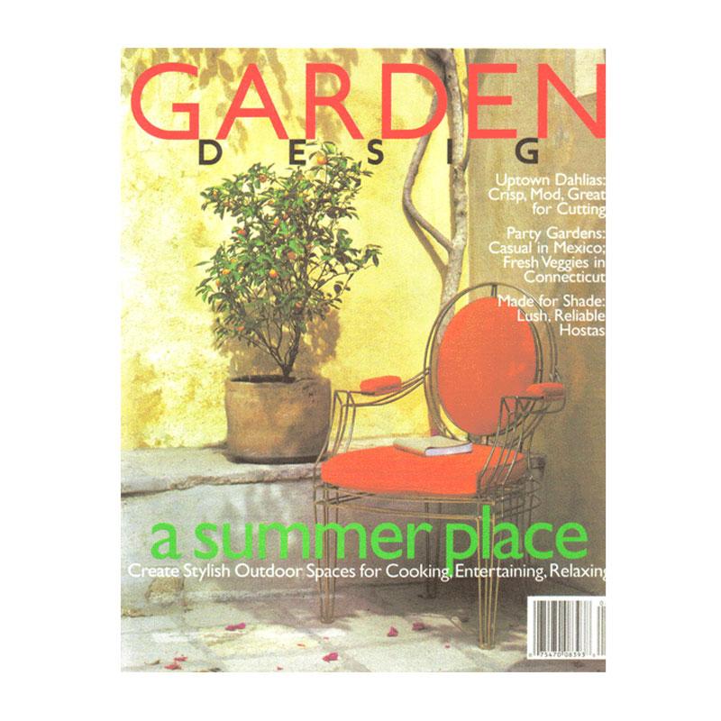 Garden design magazine roche roche for Garten design magazin